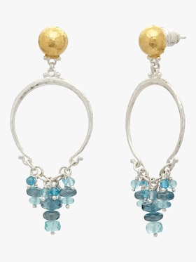 Tassel-Ring Vertigo Flurries Earrings