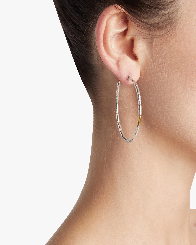 Vertigo Spring Hoop Earrings