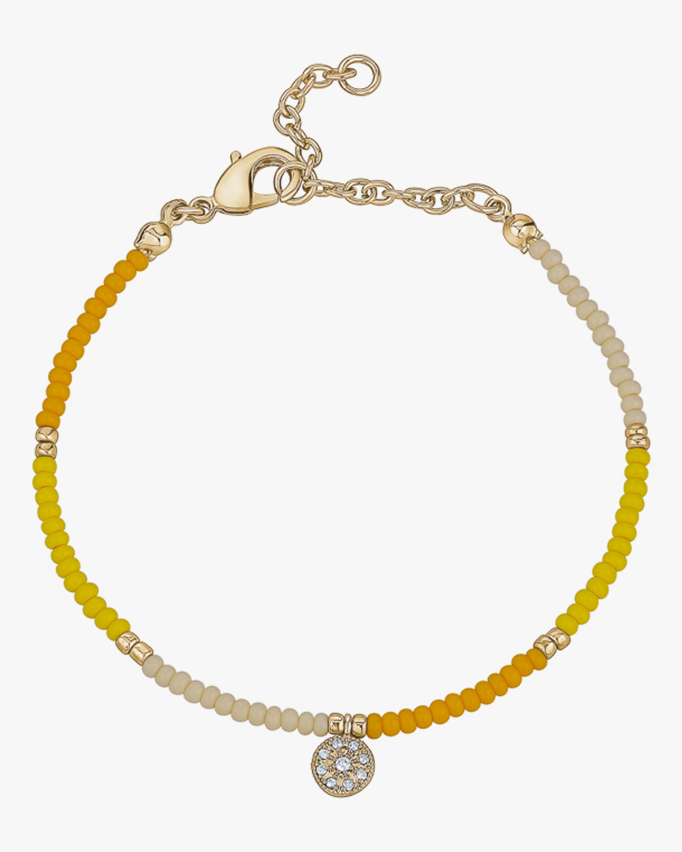 With Love Darling Energy Medallion Beaded Bracelet 0