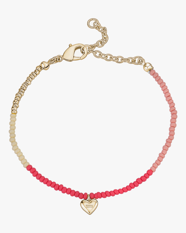 With Love Darling Heartbeat Beaded Bracelet 0