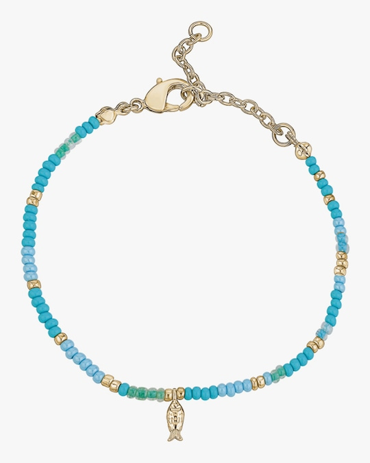 With Love Darling Fish Beaded Bracelet 0