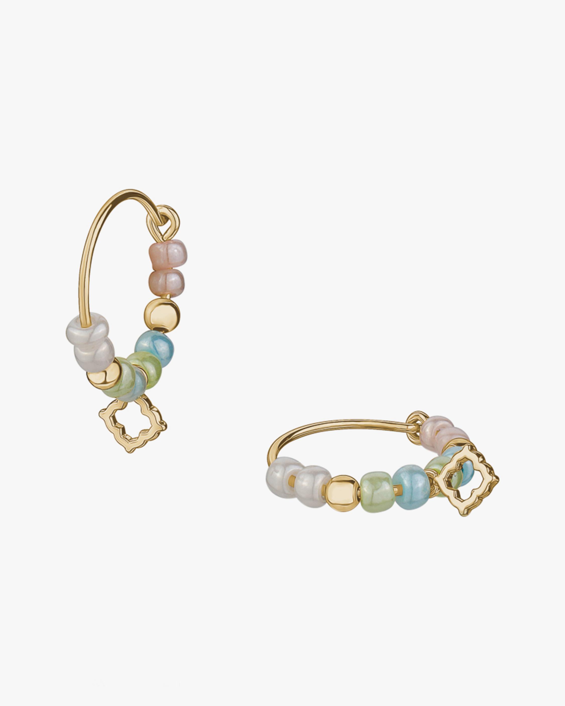 With Love Darling Water Drop Beaded Earrings 0