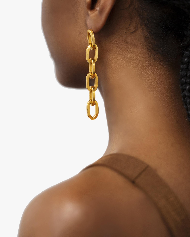 Ben-Amun Chain Drop Earrings 2