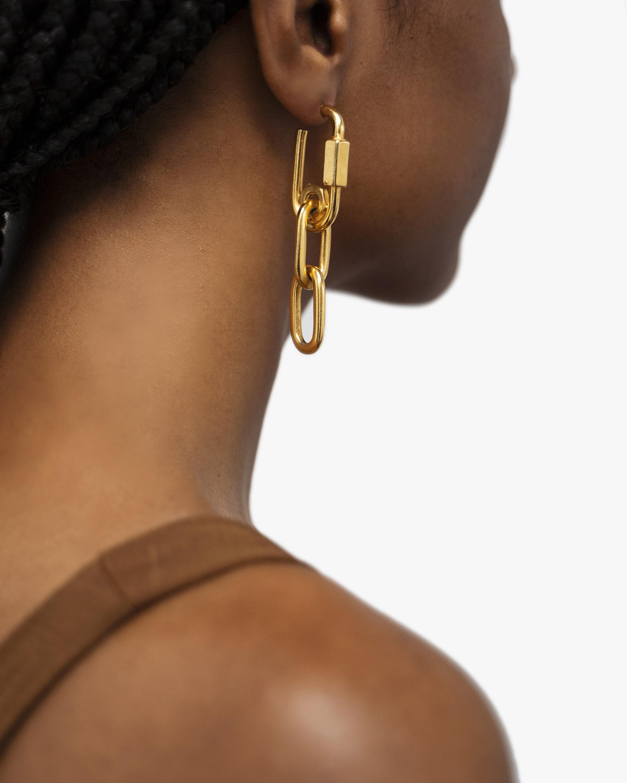 Ben-Amun Screw Link Drop Earrings 2