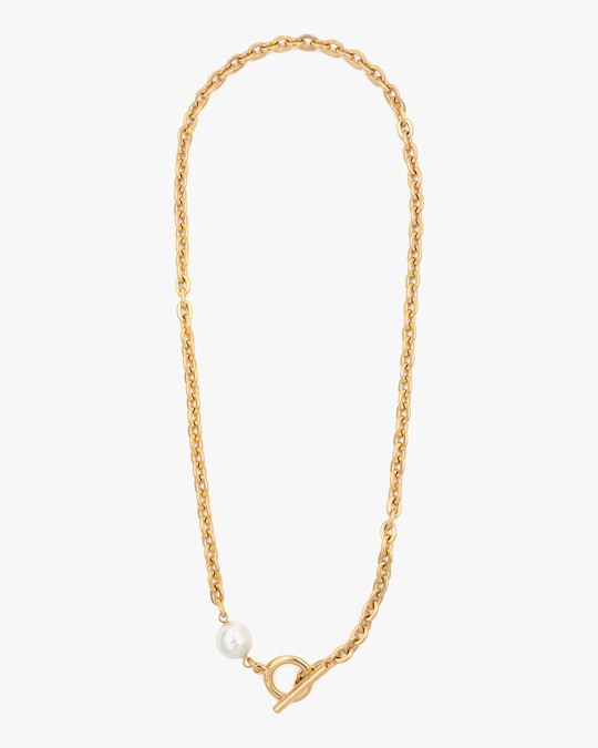 Ben-Amun Glass Pearl Rope Lariat Necklace 0