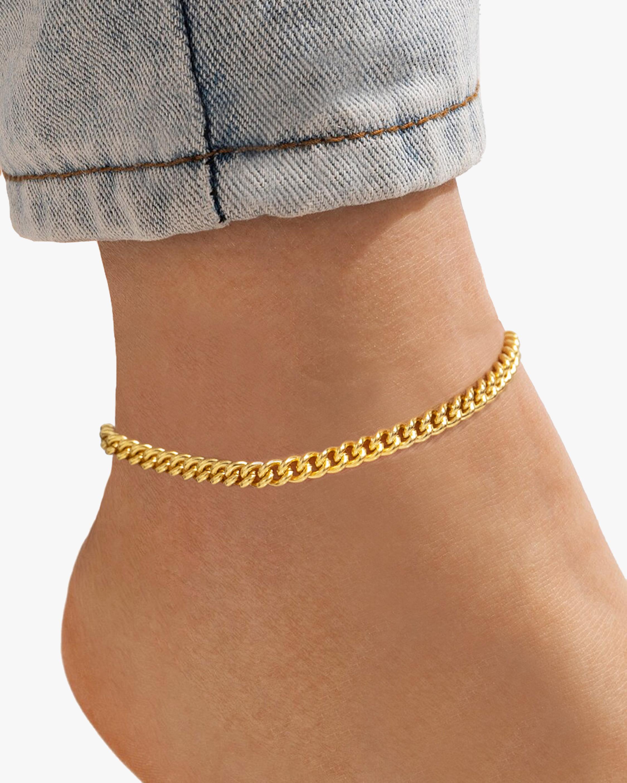 Ben-Amun Curb Chain Anklet 1