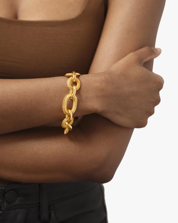 Ben-Amun Textured Link Chain Bracelet 2
