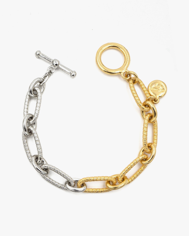 Ben-Amun Two-Tone Chain Bracelet 0