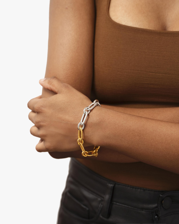 Ben-Amun Two-Tone Chain Bracelet 2
