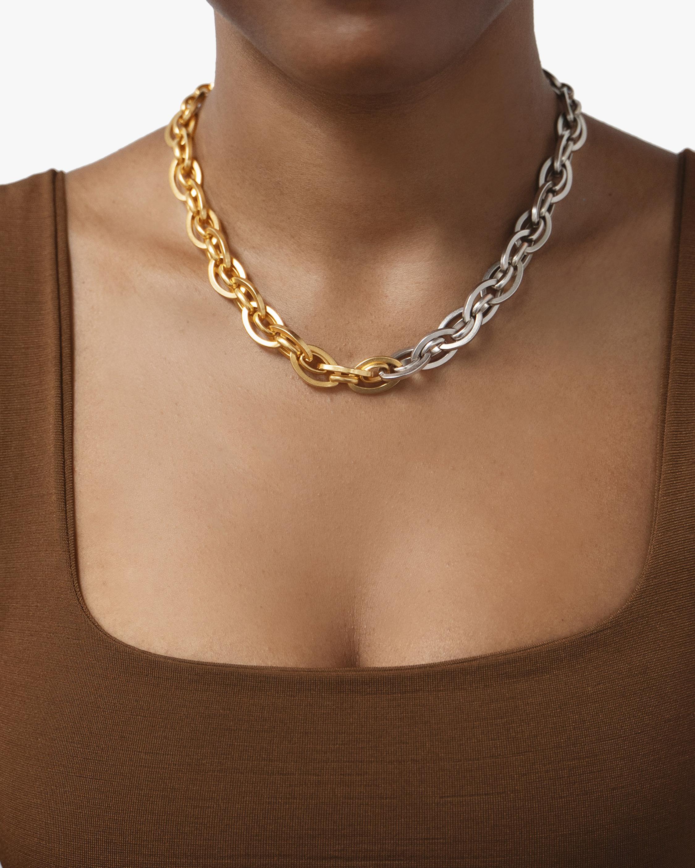 Ben-Amun Two-Tone Chain Necklace 1
