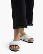 Theory Embroidered Fringe Pants 4