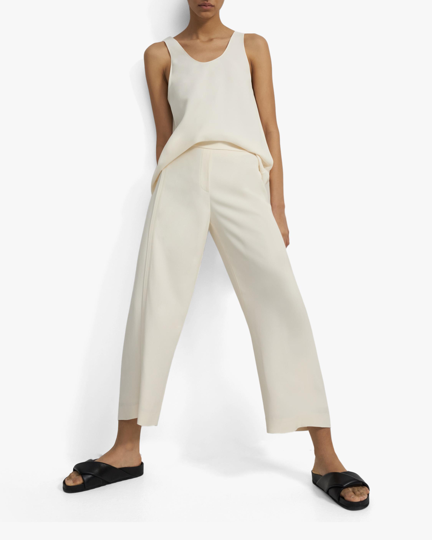 Theory Forward Seam Cropped Pants 2