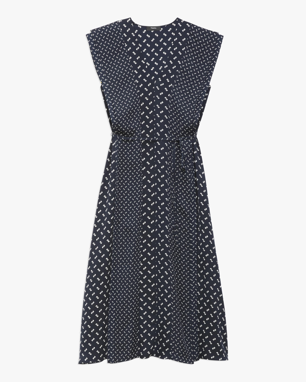 Theory Ruffle V-Neck Dress 1