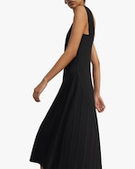 Theory Square-Neck Ribbed Dress 3