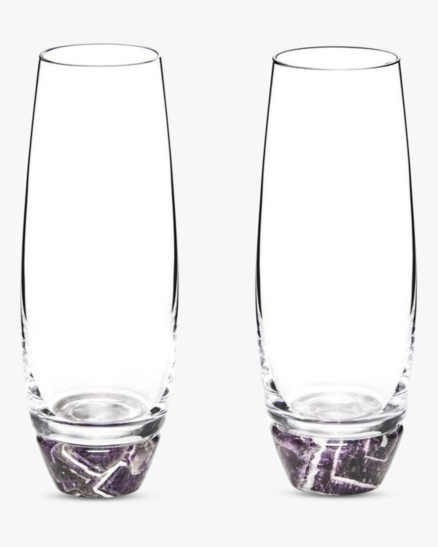 ANNA New York Elevo Champagne Glasses - Set of 2 0
