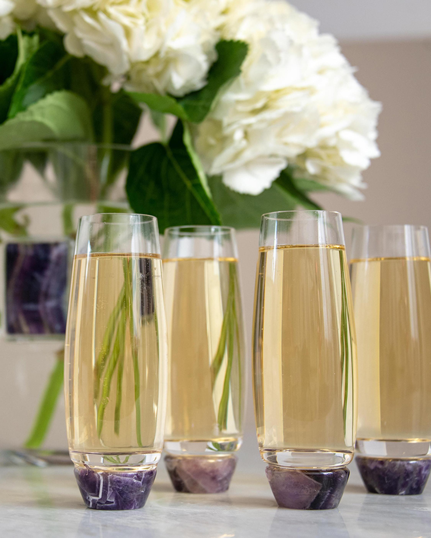 ANNA New York Elevo Champagne Glasses - Set of 2 1