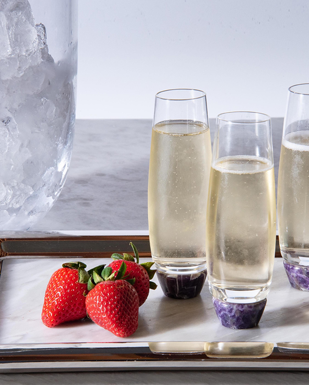 ANNA New York Elevo Champagne Glasses - Set of 2 2