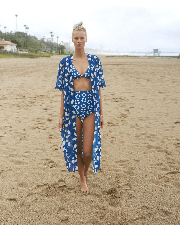 Verde Limón Amazonas Bikini Top 2
