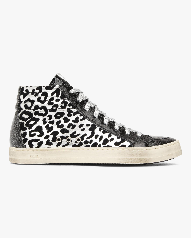 P448 The Skate Leopard High-Top Sneaker 0