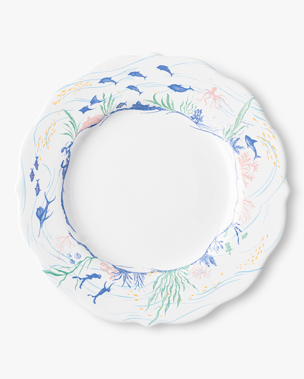 Country Estate Seaside Dinner Plate