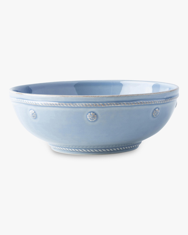 Juliska Berry & Thread Chambray Coupe Pasta Bowl 1