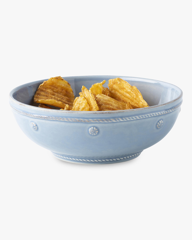 Juliska Berry & Thread Chambray Coupe Pasta Bowl 2