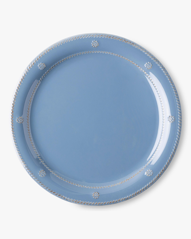Juliska Berry & Thread Chambray Melamine Dinner Plate 0