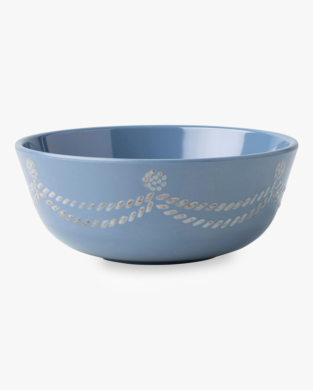 Juliska Berry & Thread Chambray Melamine Cereal Bowl 0