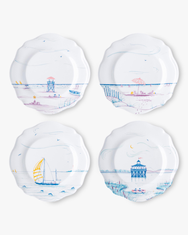 Juliska Country Estate Seaside Melamine Dessert Plate - Set of 4 0