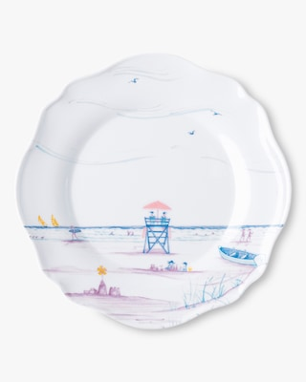 Juliska Country Estate Seaside Melamine Dessert Plate - Set of 4 2