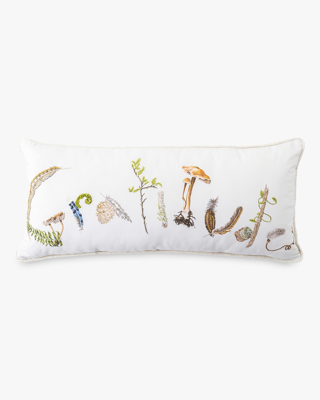 Juliska Forest Walk Gratitude Pillow 0