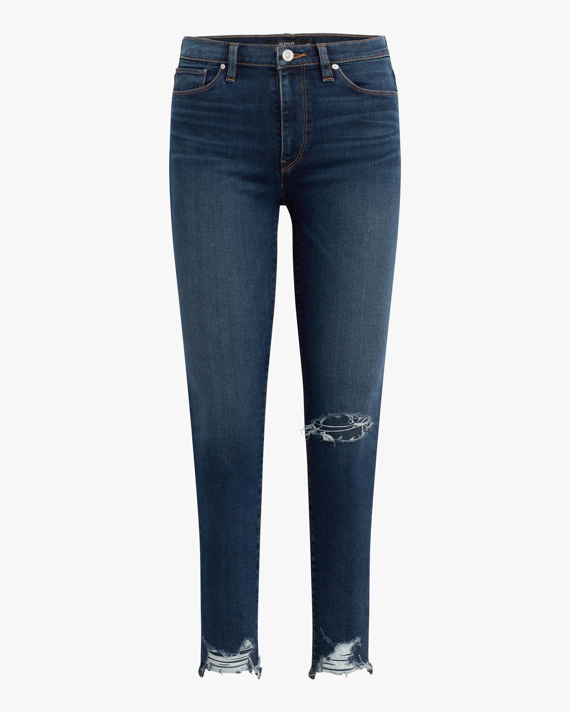 Hudson Barbara High-Waist Super Skinny Jeans 0