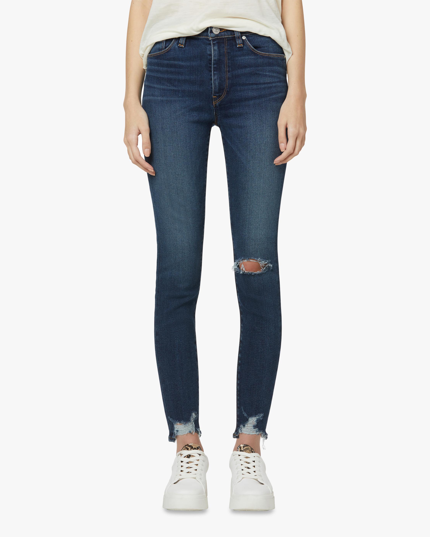 Hudson Barbara High-Waist Super Skinny Jeans 2