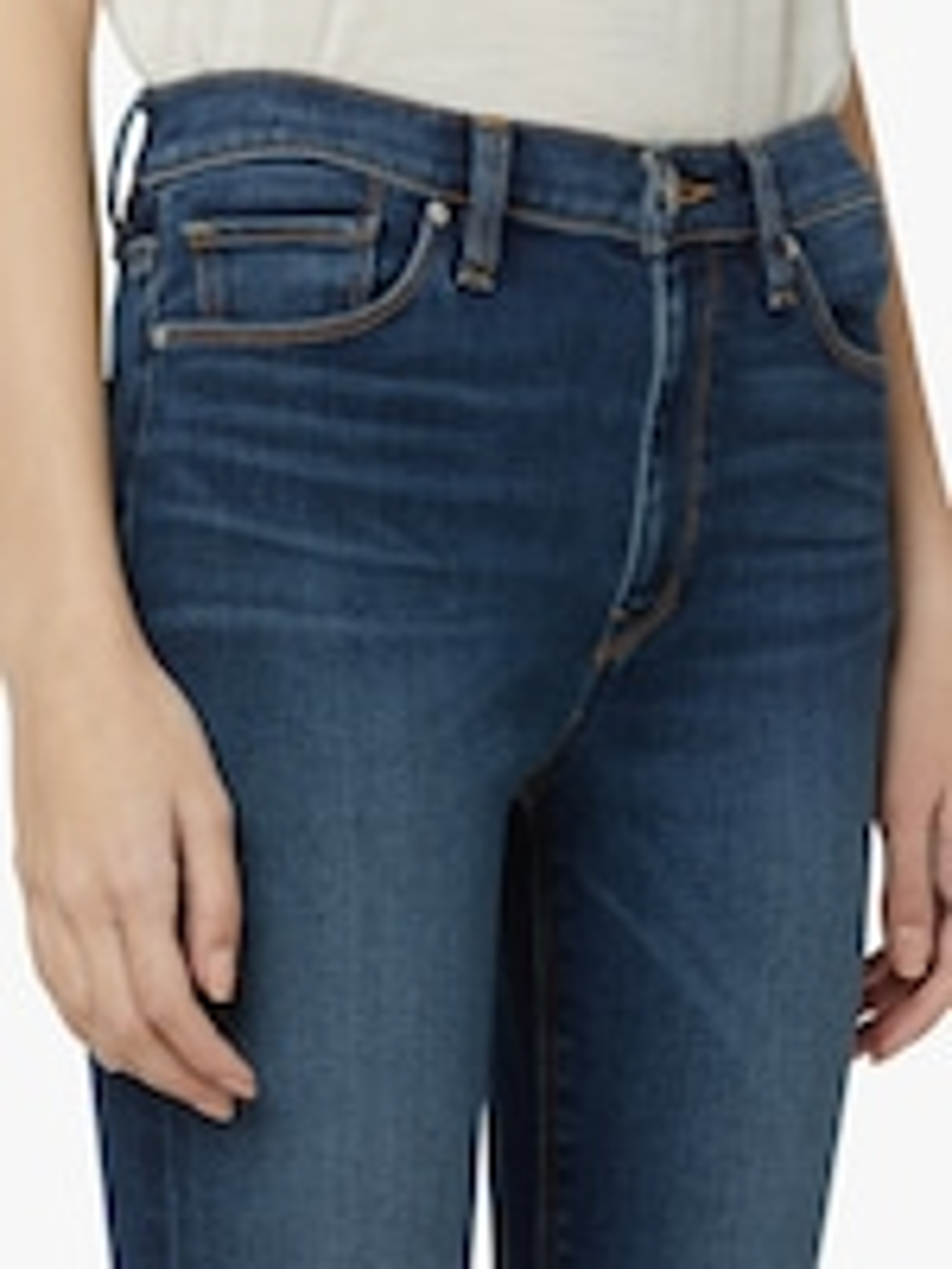 Hudson Barbara High-Waist Super Skinny Jeans 5