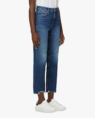 Hudson Remi High-Rise Straight Jeans 2