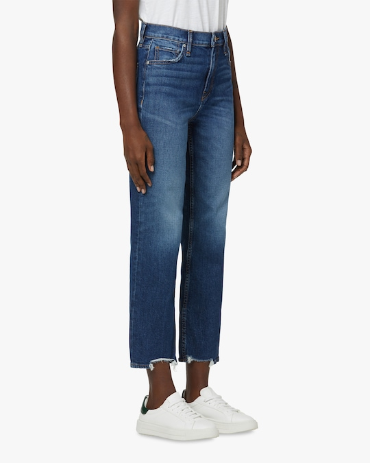 Hudson Remi High-Rise Straight Jeans 1