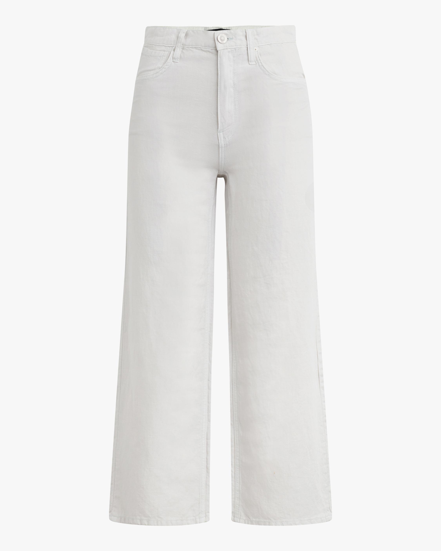 Hudson Rose High-Rise Wide-Leg Pants 1