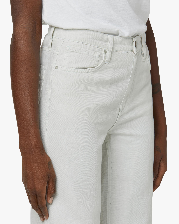 Hudson Rose High-Rise Wide-Leg Pants 4