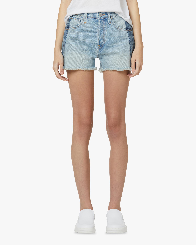 Hudson Reconstructed Indigo Denim Shorts 2