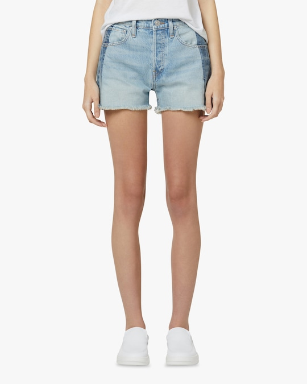 Hudson Reconstructed Indigo Denim Shorts 1