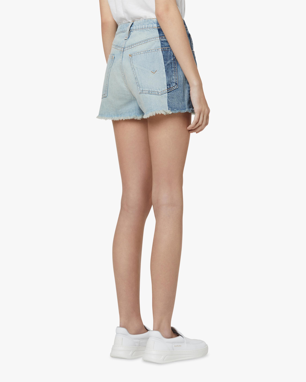 Hudson Reconstructed Indigo Denim Shorts 3