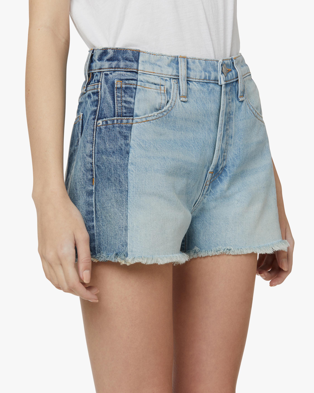 Hudson Reconstructed Indigo Denim Shorts 4