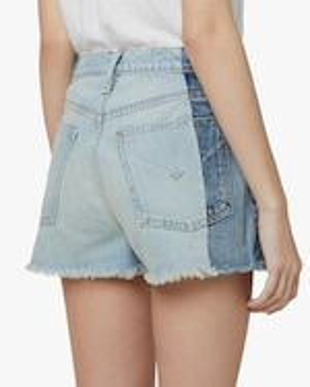Hudson Reconstructed Indigo Denim Shorts 5