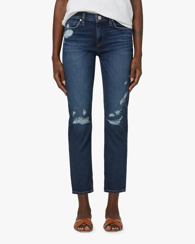 Hudson Nico Mid-Rise Straight Jeans 2