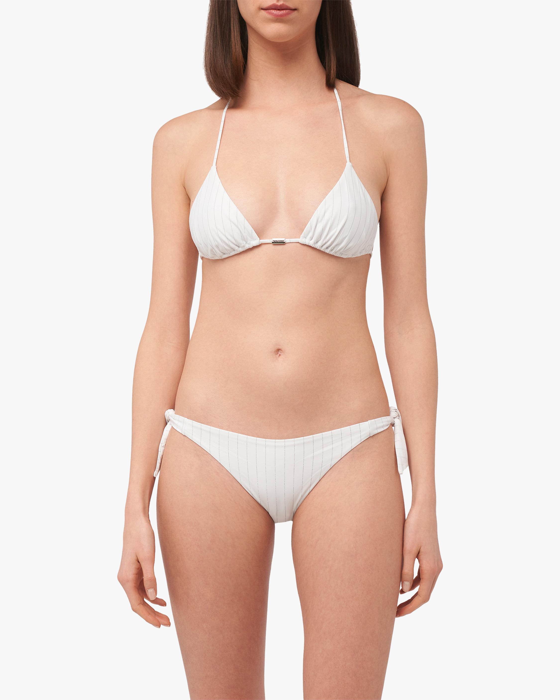 La Perla Stripy Beach Triangle Bikini Top 2