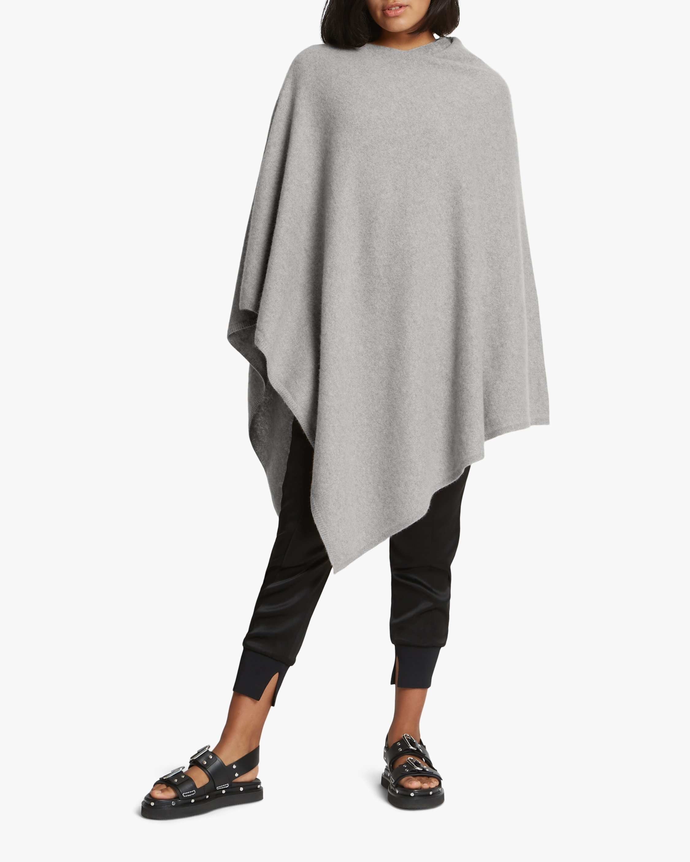 Santicler Jenica Oversized Cashmere Poncho 1