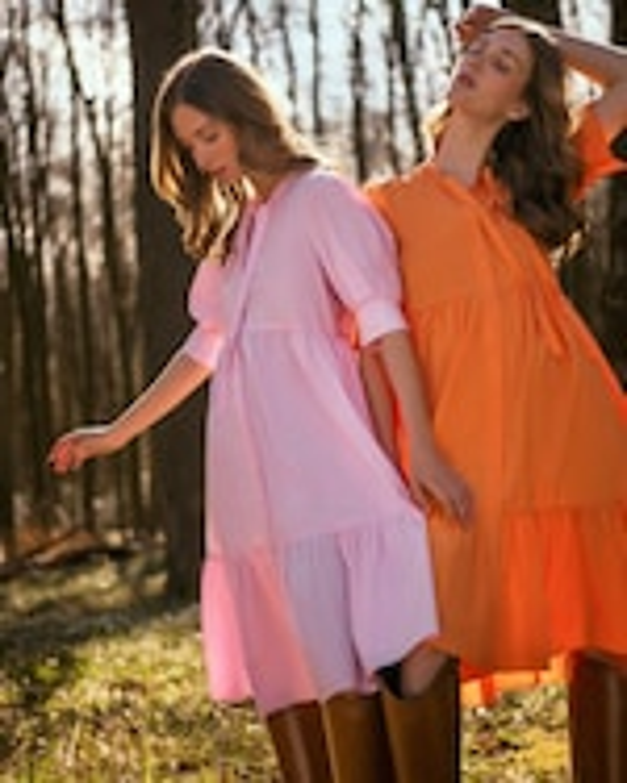 Dorothee Schumacher Colorful Volumes Midi Dress 5