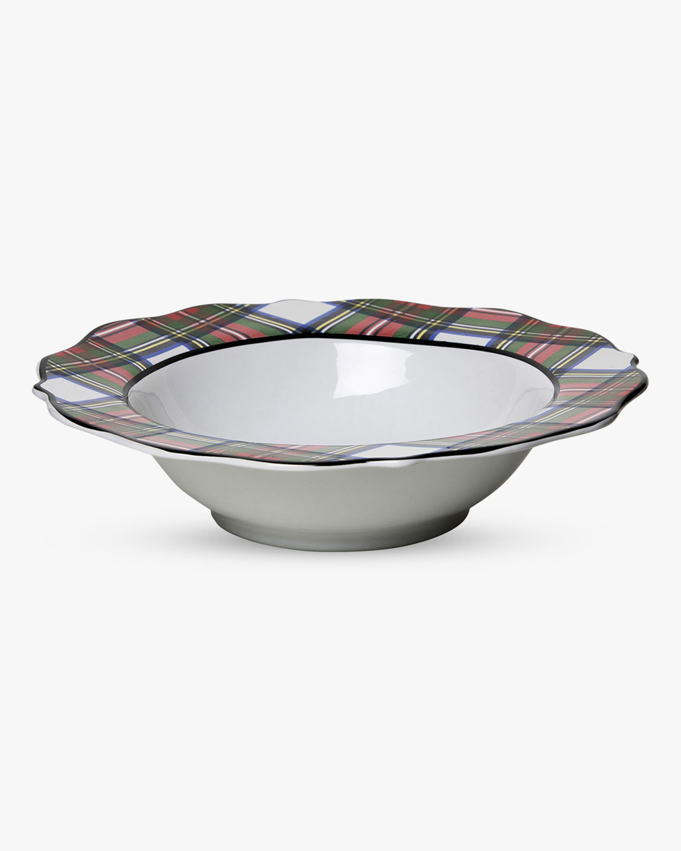 Juliska Stewart Tartan Serving Bowl - 13in 1