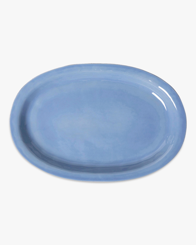 Juliska Puro Chambray Platter -16in 1