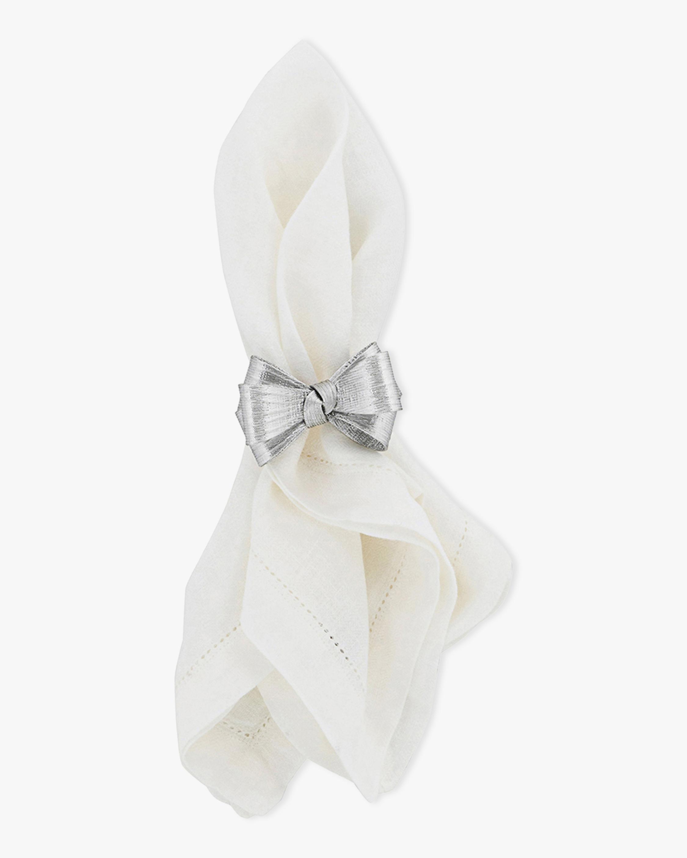 Juliska Tuxedo Silver Napkin Ring 2
